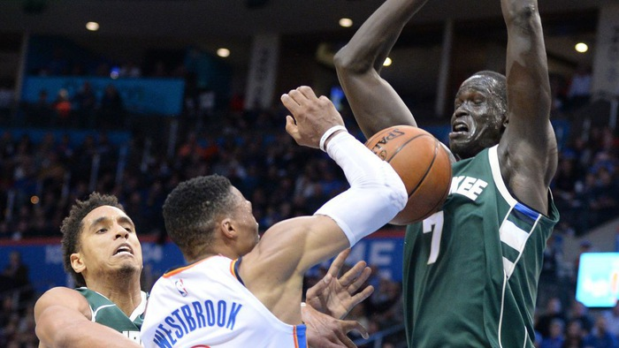 Video kết quả NBA Preseason 2018/19: Oklahoma City Thunder - Milwaukee Bucks