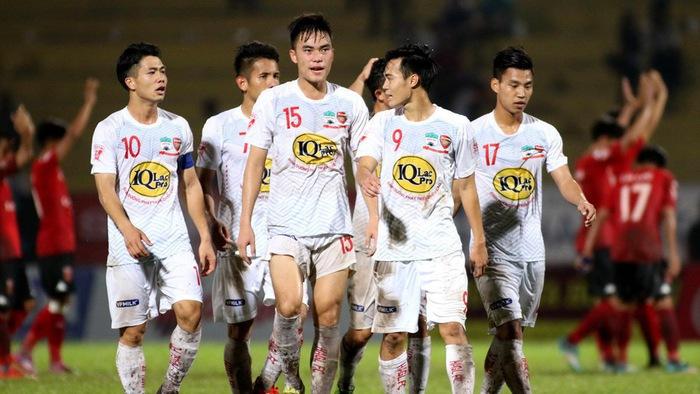 Video kết quả vòng 13 V.league 2018 : Hoàng Anh Gia Lai - Quảng Nam FC