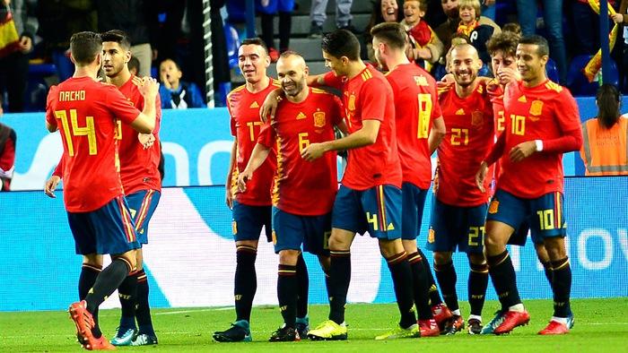 Profile đội tuyển: Đội hình ĐT Tây Ban Nha tham dự World Cup 2018