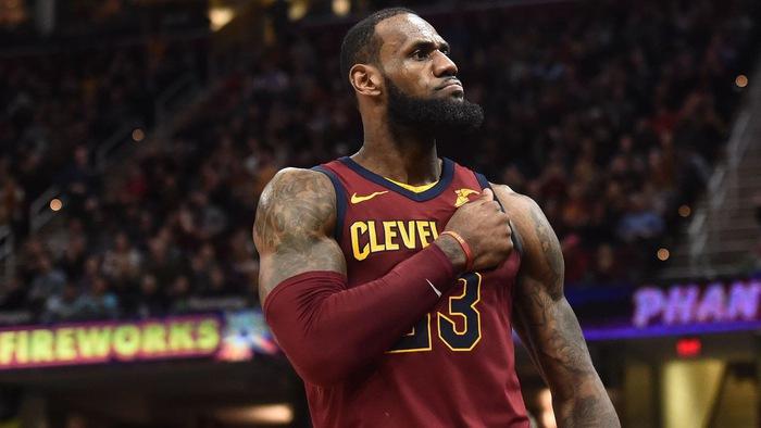 Những màn trình diễn cuối cùng của LeBron James tại Cleveland Cavaliers