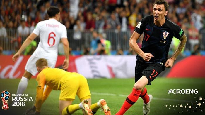 Video kết quả WC 2018: ĐT Croatia - ĐT Anh