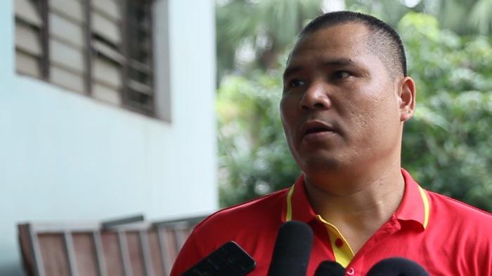 HLV Pencak Silat Nguyễn Văn Hùng hy vọng các VĐV đều có được HCV ASIAD 2018