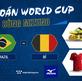 Dự đoán World Cup cùng Mizuno: Brazil - Bỉ