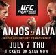 Lịch thi đấu UFC Fight Night 90: dos Anjos vs. Alvarez