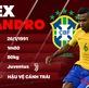 Thông tin cầu thủ Alex Sandro của ĐT Brazil dự World Cup 2018
